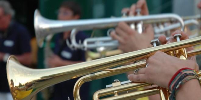La Banda SVS alla manifestazione musicale organizzata da Aeroc nel quartiere di Corea