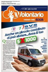il volontario speciale 5 per 1000 SVS
