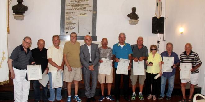 Festeggiati i volontari con 50 anni di servizio