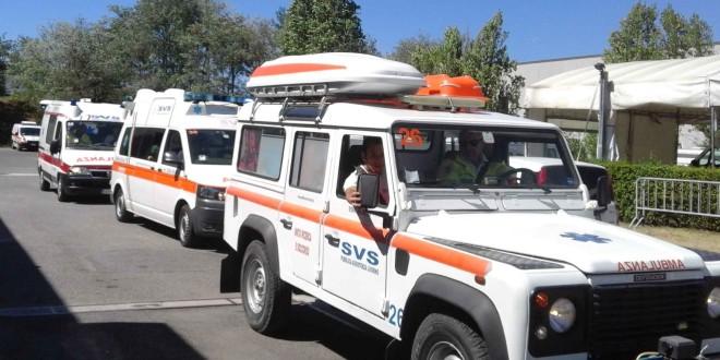 Volontari e mezzi SVS partiti per Amatrice. Organizzati i Centri di raccolta